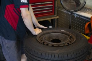 Value tyre fitting service