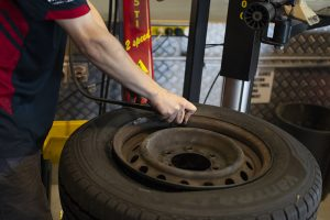 tyre fitting bush road tyres