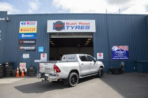 Bush road tyres albany auckland outside