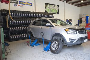 Bush road tyres vehicle service