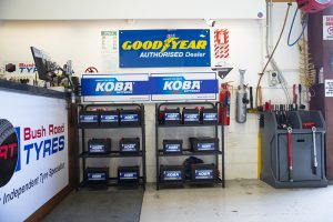 Bush road tyres koba car batteries