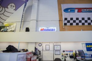 Bush road tyres shop interior