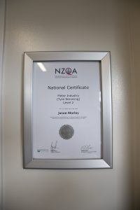 Bush road tyres albany national certificate