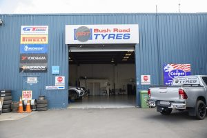 Bush road tyres albany workshop entrance