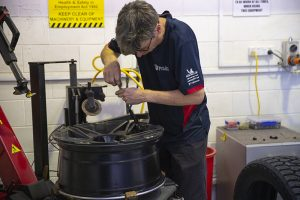 Bush road tyres tyre fitting services
