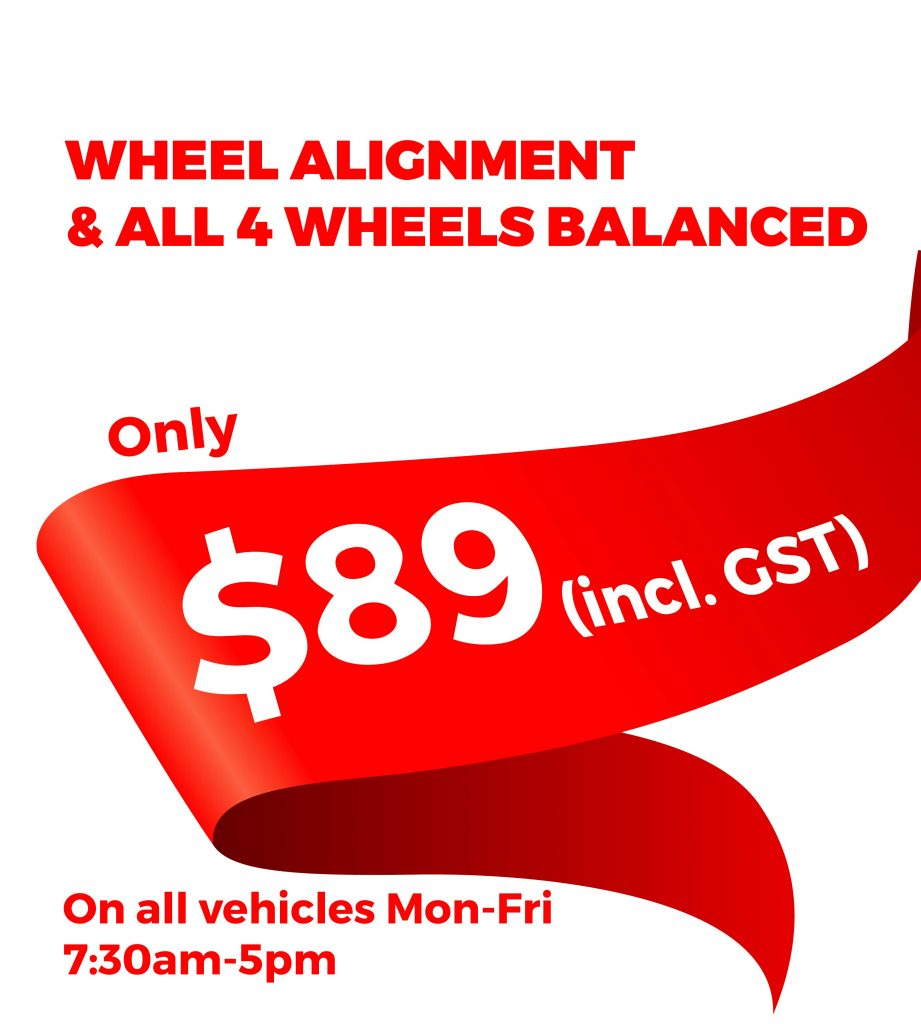 Wheel alignment and balance deals