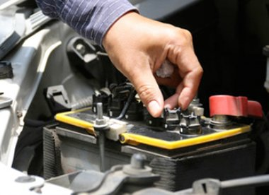 Bush road tyres services battery replacement