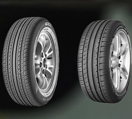 Gt radial tyres bush road tyres